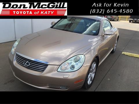 2004 Lexus SC 430 for sale in Katy, TX