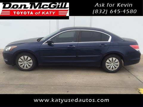 2010 Honda Accord for sale in Katy, TX