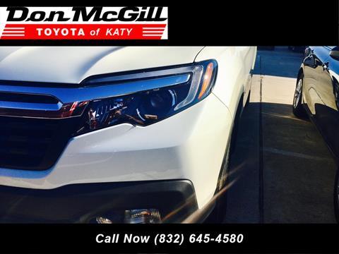 2017 Honda Ridgeline for sale in Katy, TX