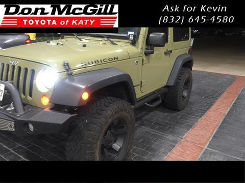 2013 Jeep Wrangler for sale in Katy, TX