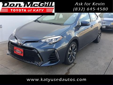 2017 Toyota Corolla for sale in Katy, TX