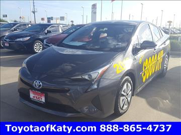 2016 Toyota Prius for sale in Katy, TX