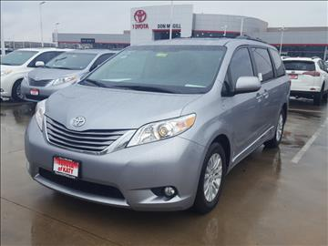 2017 Toyota Sienna for sale in Katy, TX