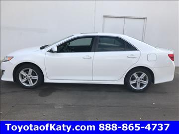 2012 Toyota Camry for sale in Katy, TX