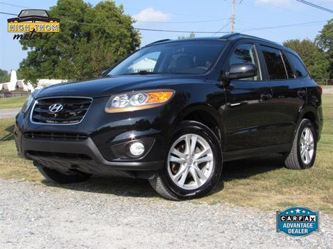 2010 Hyundai Santa Fe for sale in Thomasville, NC