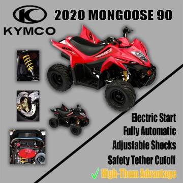 2020 Kymco Mongoose 90s