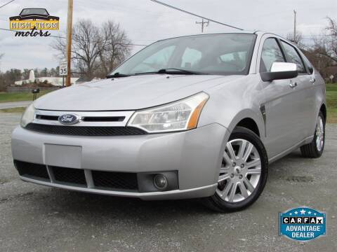 2009 Ford Focus for sale at High-Thom Motors in Thomasville NC