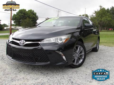 2015 Toyota Camry for sale at High-Thom Motors in Thomasville NC