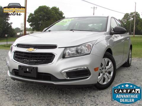 2015 Chevrolet Cruze for sale at High-Thom Motors in Thomasville NC