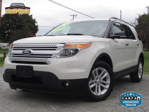 2012 Ford Explorer for sale at High-Thom Motors in Thomasville NC