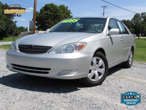 2002 Toyota Camry for sale at High-Thom Motors in Thomasville NC
