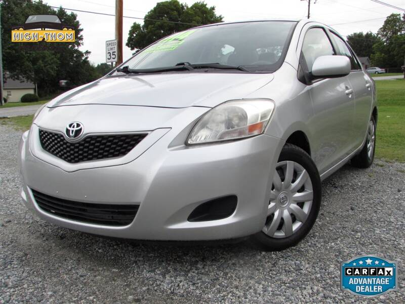 2012 Toyota Yaris for sale at High-Thom Motors in Thomasville NC