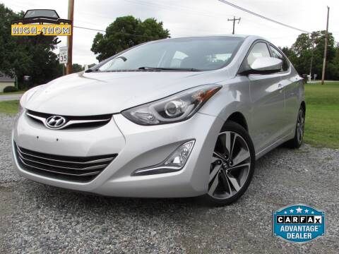 2014 Hyundai Elantra for sale at High-Thom Motors in Thomasville NC