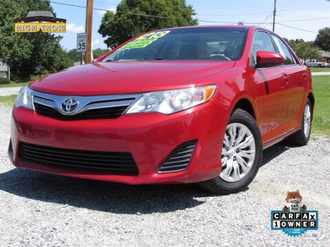 2013 Toyota Camry for sale at High-Thom Motors in Thomasville NC