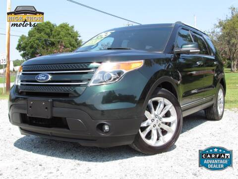 2013 Ford Explorer for sale at High-Thom Motors in Thomasville NC