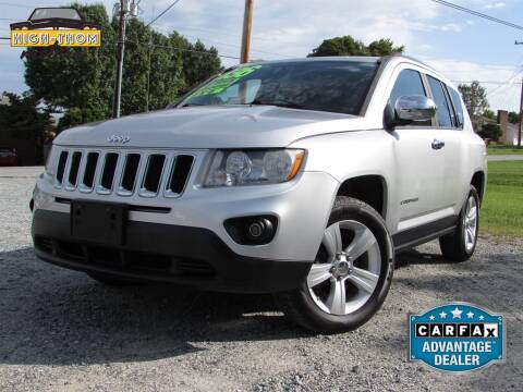 2012 Jeep Compass for sale at High-Thom Motors in Thomasville NC