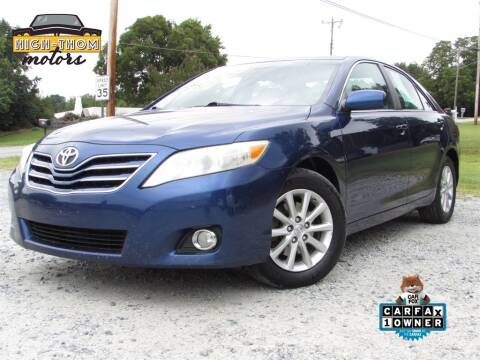 2011 Toyota Camry for sale at High-Thom Motors in Thomasville NC