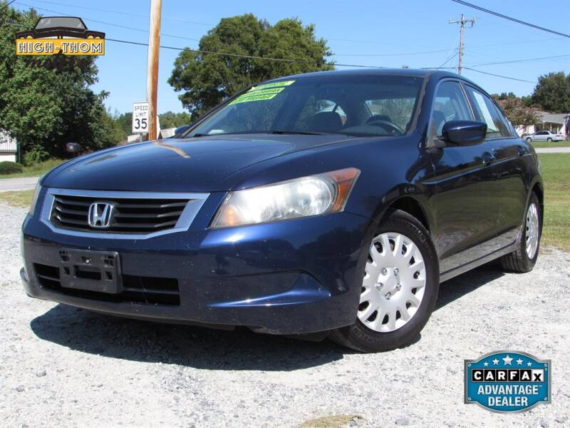 2008 Honda Accord for sale at High-Thom Motors in Thomasville NC