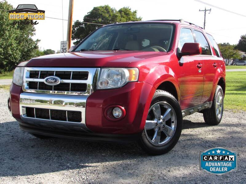 2010 Ford Escape for sale at High-Thom Motors in Thomasville NC