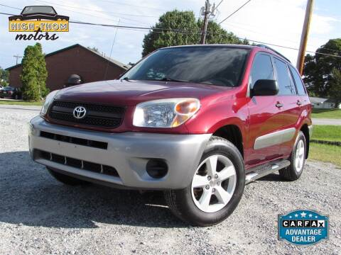 2004 Toyota RAV4 for sale at High-Thom Motors in Thomasville NC