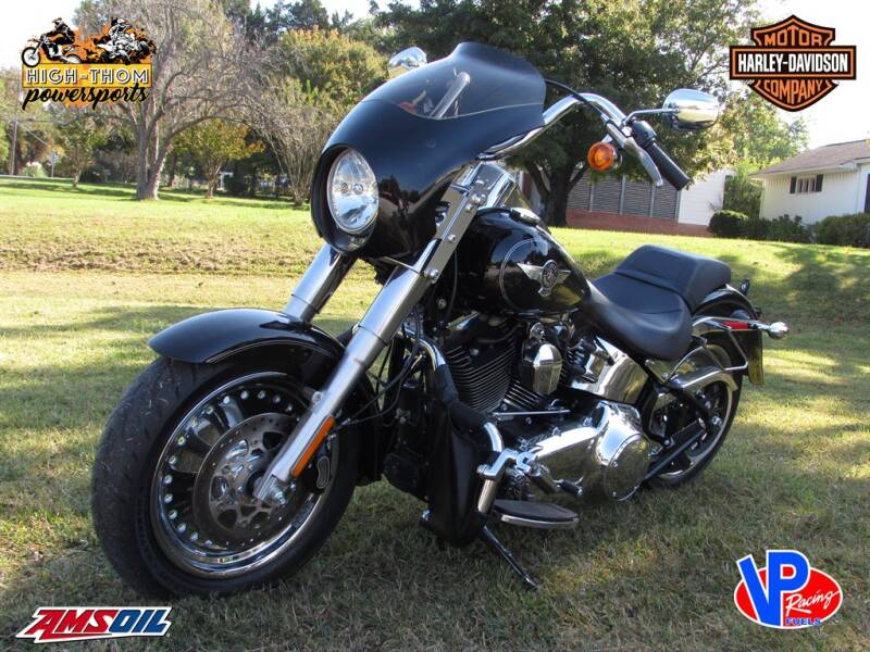 2015 Harley Davidson FAT BOY for sale at High-Thom Motors - Powersports in Thomasville NC