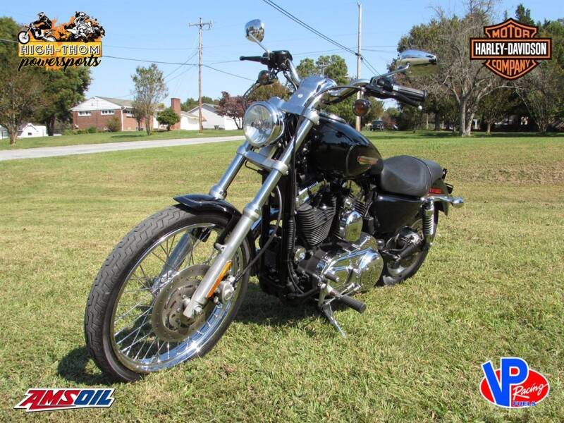2010 Harley Davidson Sportster 1200 for sale at High-Thom Motors - Powersports in Thomasville NC
