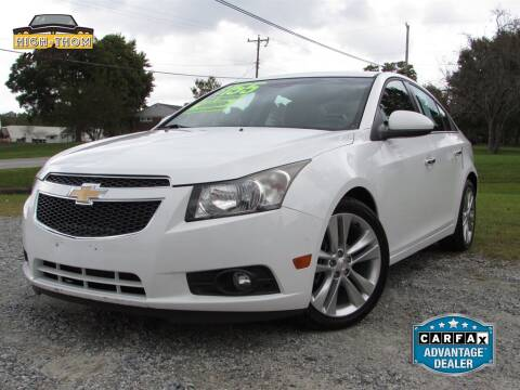 2013 Chevrolet Cruze for sale at High-Thom Motors in Thomasville NC