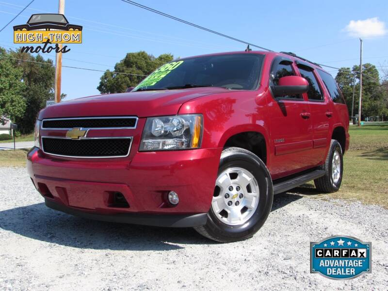 2013 Chevrolet Tahoe for sale at High-Thom Motors in Thomasville NC