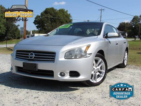 2011 Nissan Maxima for sale at High-Thom Motors in Thomasville NC