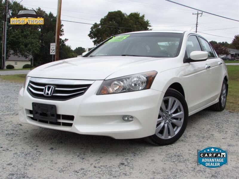 2011 Honda Accord for sale at High-Thom Motors in Thomasville NC