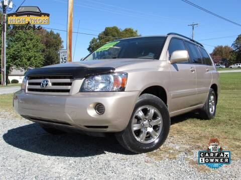 2004 Toyota Highlander for sale at High-Thom Motors in Thomasville NC