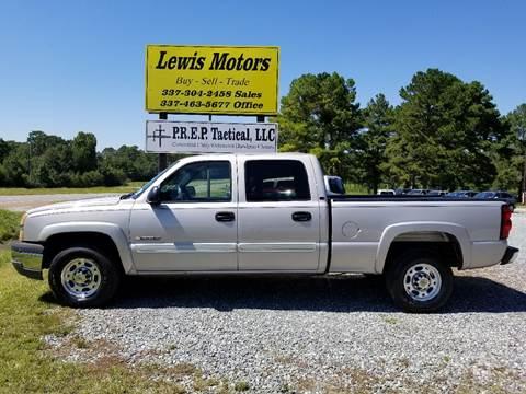 2005 Chevrolet Silverado 1500HD for sale at Lewis Motors LLC in Deridder LA