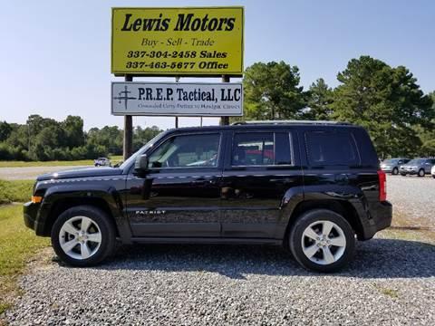 2013 Jeep Patriot for sale at Lewis Motors LLC in Deridder LA