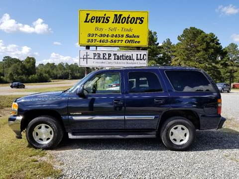 2005 GMC Yukon for sale at Lewis Motors LLC in Deridder LA