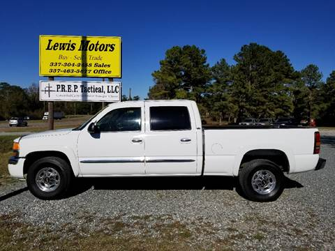 2005 GMC Sierra 1500HD for sale at Lewis Motors LLC in Deridder LA