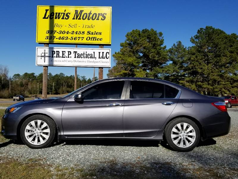 2013 Honda Accord For Sale At Lewis Motors LLC In Deridder LA