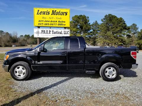 2011 Ford F-150 for sale at Lewis Motors LLC in Deridder LA