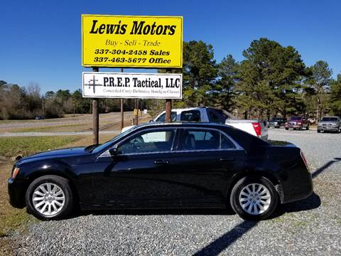 2013 Chrysler 300 for sale at Lewis Motors LLC in Deridder LA