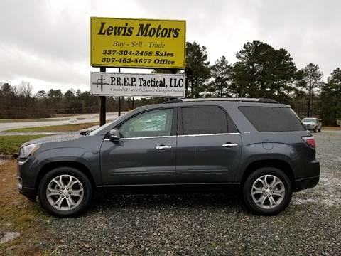 2014 GMC Acadia for sale at Lewis Motors LLC in Deridder LA