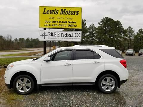 2012 Chevrolet Equinox for sale at Lewis Motors LLC in Deridder LA