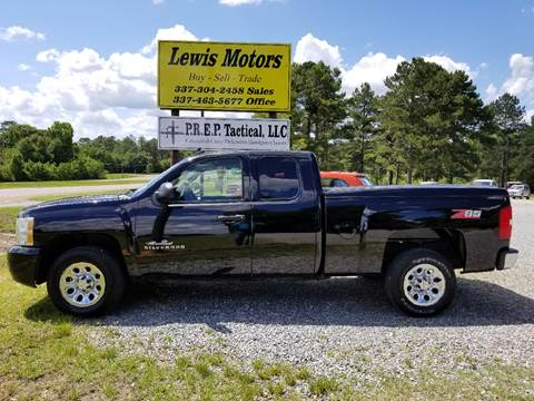 2010 Chevrolet Silverado 1500 for sale at Lewis Motors LLC in Deridder LA