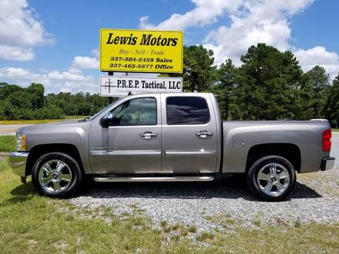 2013 Chevrolet Silverado 1500 for sale at Lewis Motors LLC in Deridder LA