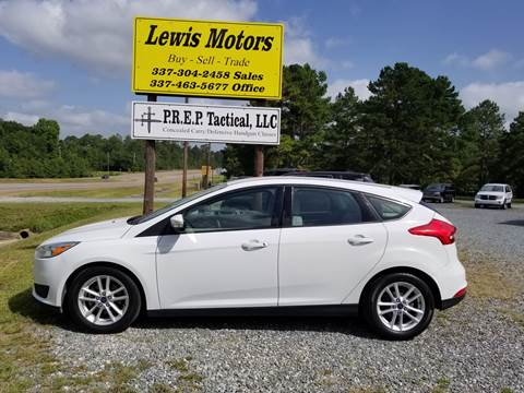 2015 Ford Focus for sale at Lewis Motors LLC in Deridder LA