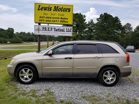 2008 Chrysler Pacifica for sale at Lewis Motors LLC in Deridder LA