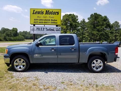 2013 GMC Sierra 1500 for sale at Lewis Motors LLC in Deridder LA