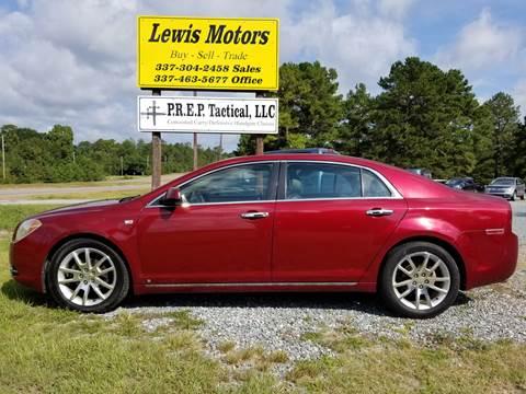 2008 Chevrolet Malibu for sale at Lewis Motors LLC in Deridder LA
