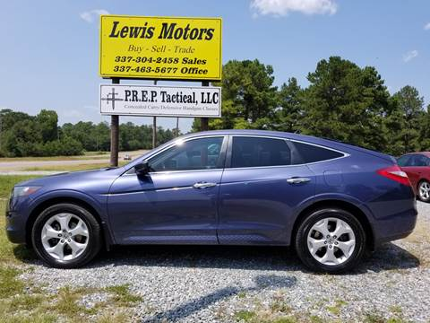 2012 Honda Crosstour for sale at Lewis Motors LLC in Deridder LA