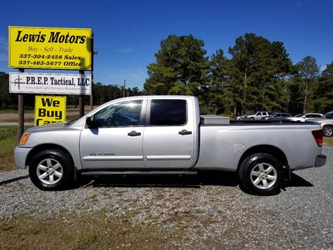 2009 Nissan Titan for sale in Deridder, LA