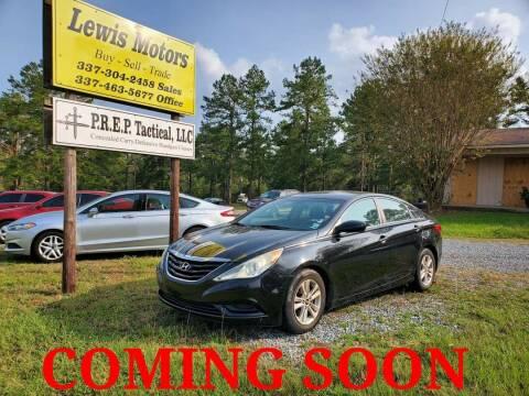 2011 Hyundai Sonata for sale at Lewis Motors LLC in Deridder LA