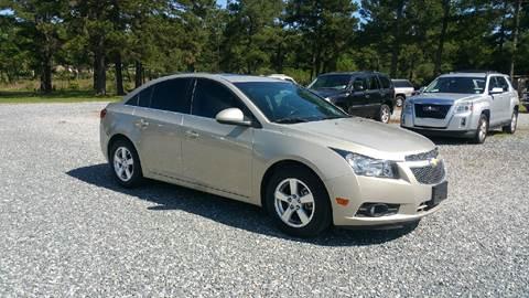 2012 Chevrolet Cruze for sale at Lewis Motors LLC in Deridder LA